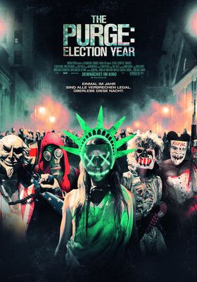 Filmposter 'The Purge - Election Year'