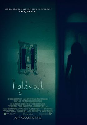 Filmposter 'Lights Out (2016)'