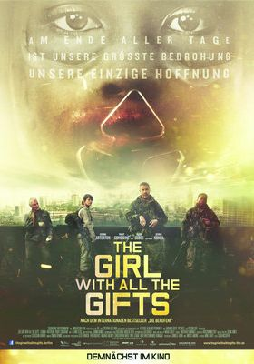 Filmposter 'The Girl with All the Gifts'