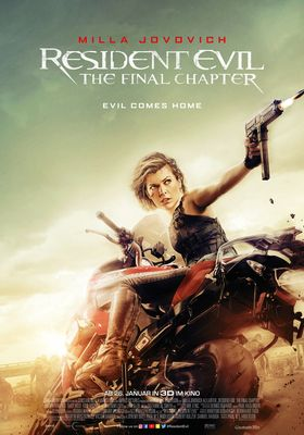 Filmposter 'Resident Evil: The Final Chapter'