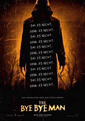 Filmposter 'The Bye Bye Man'