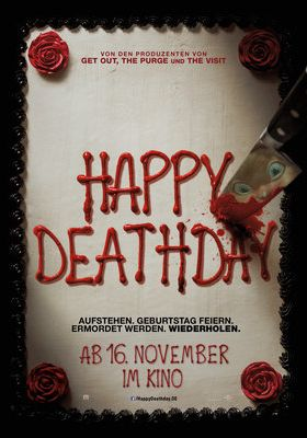 Filmposter 'Happy Deathday'