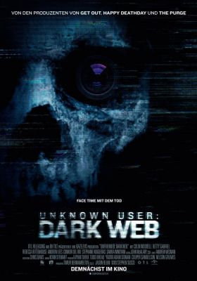 Filmposter 'Unknown User 2: Dark Web'