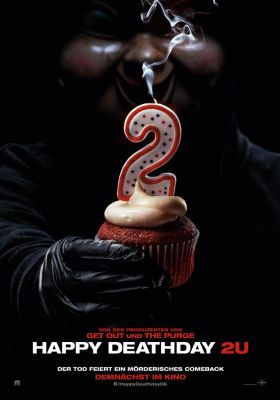 Filmposter 'Happy Deathday 2U'