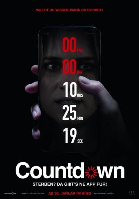 Filmposter 'Countdown (2020)'